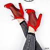 Ботильйони жіночі Tad червоні 3203, фото 3