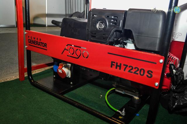 Сварочный бензиновый генератор Fogo FH 7220 SE