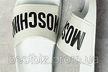 Шлепанцы женские 17391, Moschino, белые, [ 39 ] р. 39-24,8см., фото 3
