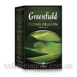 Чай Пакет Flying Dragon Greenfield 25 пакетиків по 2 гр.