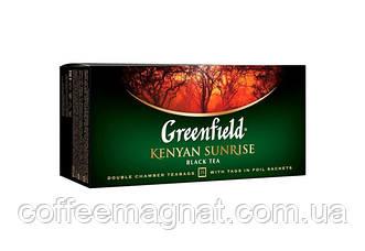 Чай Пакет Kenyan Sunrise Greenfield 25 пакетиків по 2 гр.