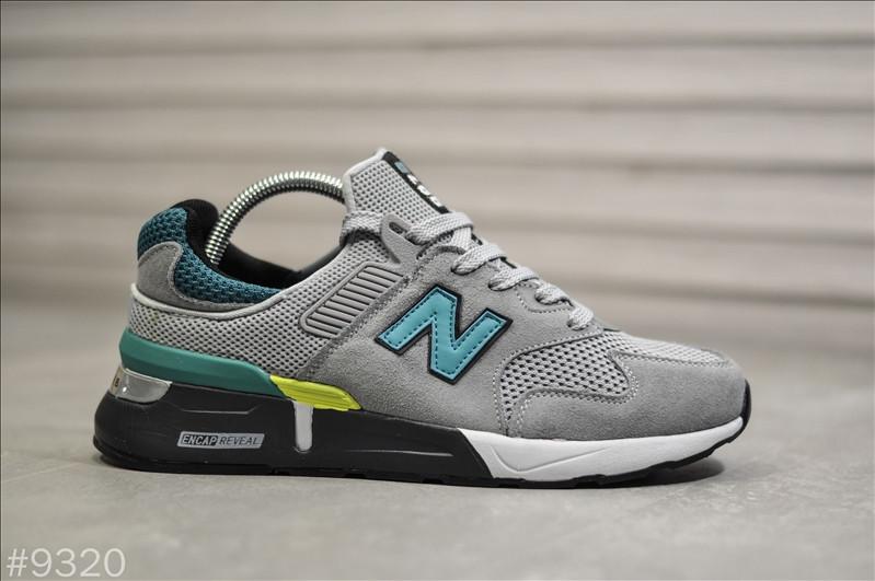 Чоловічі кросівки New Balance 997S Сірі, Репліка