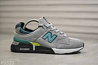 Чоловічі кросівки New Balance 997S Сірі, Репліка, фото 1