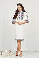 Сукня з вишивкою, льон, фото 1