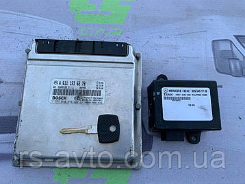 Блок управления (ЭБУ) Mercedes Sprinter  2.2   A6111536279, фото 2