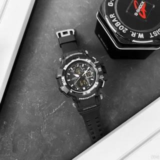 Часы мужские наручные кварцевые электронные черные Casio G-Shock GW-A1100 Black-White