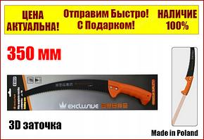 Ножовка садовая с отверстием для палки 350 мм Тефлон.Покрытие,3D заточка Richmann С1917