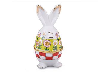 Шкатулка Lefard Пасхальный кролик 6х6х13 см  82-909