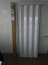 Двері міжкімнатні розсувні 810*2030*6мм білий ясен 610