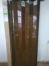 Двері біла гармошка глуха міжкімнатні №822, 810*2030*6 мм