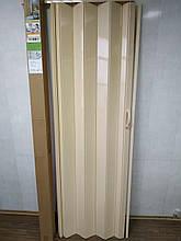 Двері гармошкою глуха дуб темний 7036, 81*203*0,6 см