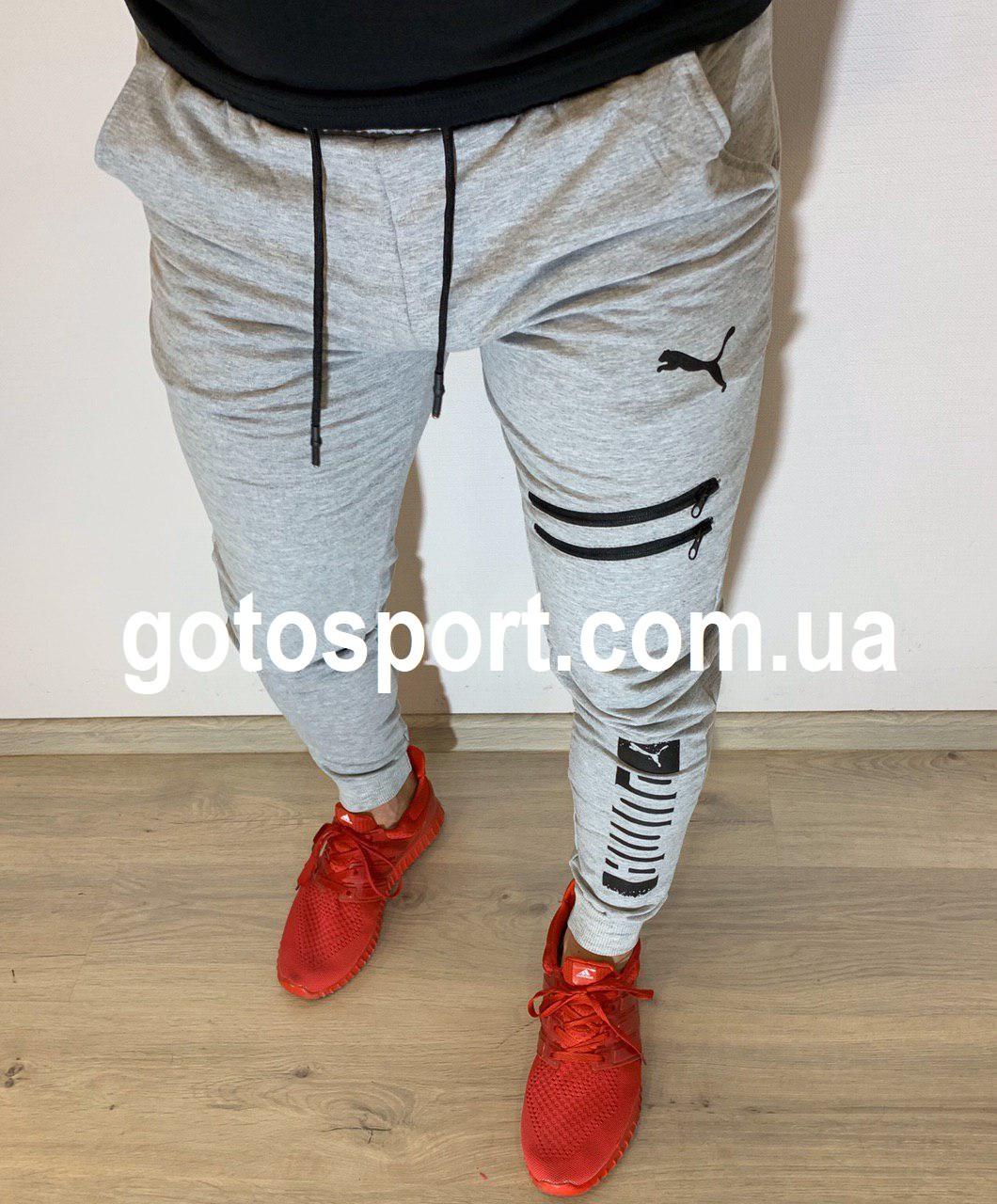 Спортивные мужские штаны Puma Sports Field Grey