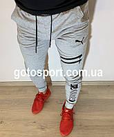 Спортивные мужские штаны Puma Sports Field Grey, фото 1