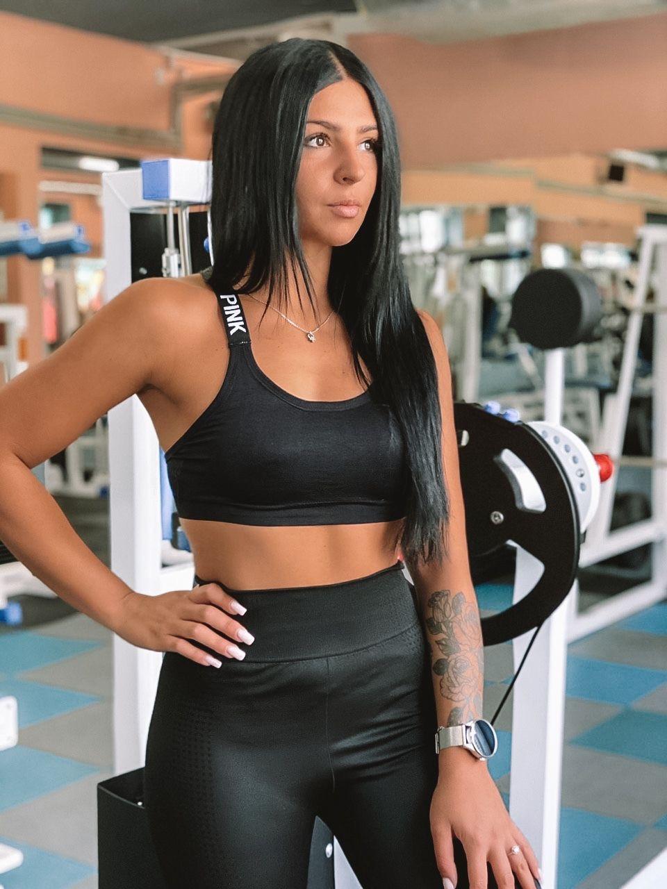 Спортивний жіночий топ Olivia з Push up
