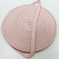 Тесьма киперная 10мм цв S-028 цв розовый светлый (боб 40м)