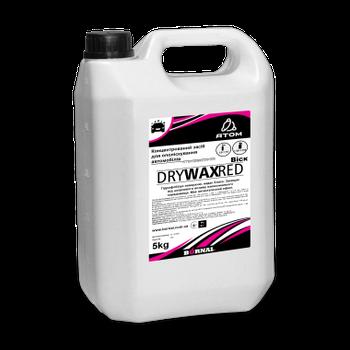 Воск-ополаскиватель Dry wax Red с ароматом клубники - концентрат для ручной мойки, 5 кг