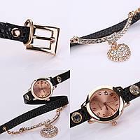 Часы-браслет длинные, наматывающиеся на руку Пепельные 089-2, наручные часы, женские часы, мужские часы,
