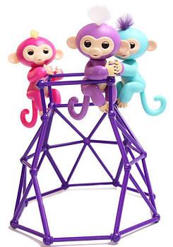 Интерактивный комплект Fingerlings Jungle Gym PlaySet + интерактивная обезьянка Zoe