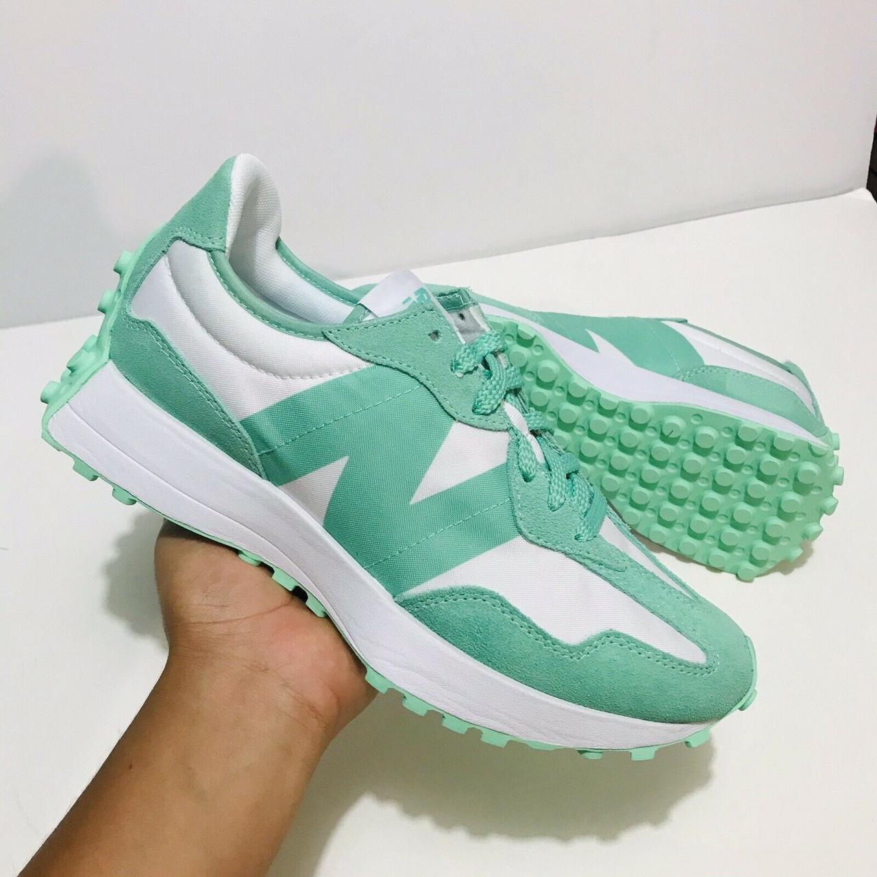 """Кросівки New Balance 327 """"Зелені/Білі"""""""
