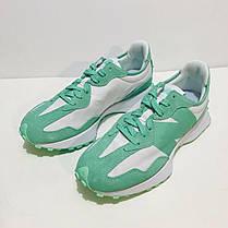 """Кросівки New Balance 327 """"Зелені/Білі"""", фото 2"""