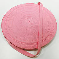 Тасьма киперная 10мм кол рожевий (боб 40м)