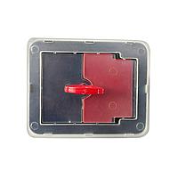 Ручка замок для пожежного шафи RZ L267-3, пластик, з ключем