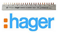 Фазна шина Hager KDN451D 3P+N 16мм2 12M