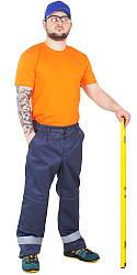 """Штани (брюки) чоловічі робочі """"Будівельник"""" (грета)"""