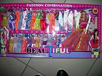 "Кукла типа ""Барби"" с одеждой, аксессуарами, в коробке"