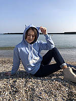 Женский весенний  худи с капюшоном новинка 2021