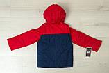 Дитяча куртка з відстібними рукавами трансформер в жилетку на хлопчика демісезонна, м. Екстрим, 104-122, фото 3