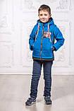 Дитяча куртка з відстібними рукавами трансформер в жилетку на хлопчика демісезонна, м. Екстрим, 104-122, фото 4