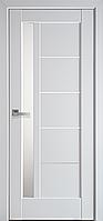 """Міжкімнатні двері """"Грета"""" G 900, колір білий глянцевий , ліві"""