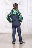 Дитяча куртка з відстібними рукавами трансформер в жилетку на хлопчика демісезонна, м. Екстрим, 104-122, фото 7