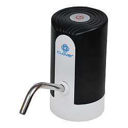 Помпа электрическая аккумуляторная  для бутилированной воды Clover К9 Black (C0000001618)