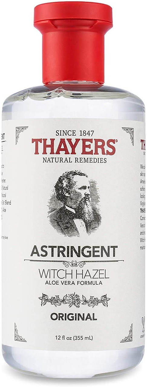 В'яжучий Thayers Original Witch Hazel Astrіngent з алое віра (355 мл)