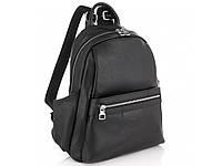 Женский черный кожаный рюкзак Olivia Leather