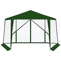 Павильон садовый 6 секций 2х2х2м с москитной сеткой торговая палатка (Туристический шатер)