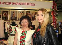 """С Ольгой Сумской, на выставке """"свадьба и выпускной бал 2013"""", в Киеве"""