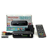 Цифровой эфирный ресивер World vision T624D3