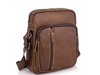 Коричневая мужская сумка через плечо Tiding Bag