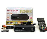 Цифровой эфирный ресивер World vision T624 M2