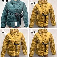 Куртка жіноча весна-осінь ОПТ ростовка 02 РІС