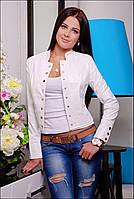 Куртка женская белая 821