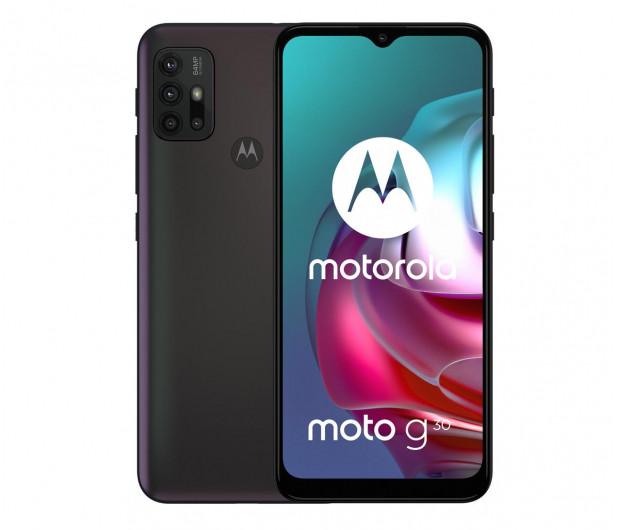 Смартфон MOTORLA G30 6/128GB PHANTOM BLACK