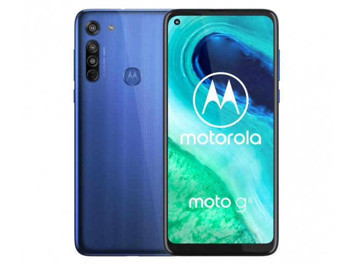 Смартфон Motorola Moto G8 4/64GB Neon Blue