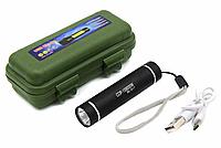 Фонарь Police BL-B517/ Встроенный аккумулятор Li-ion 18650/ Зарядка через microUSB