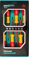 Набор отверток Whirlpower 6 шт. диэлектрических (V11-306)