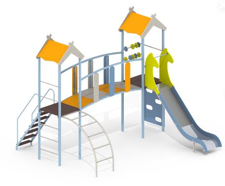 Детский игровой комплекс KB92, фото 2