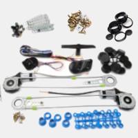 Комлекты и комплектующие электрических универсальных стеклоподъемников TIGER